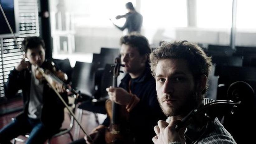 Quatuor Ebène: Das Quatuor Ebène bei der Probe