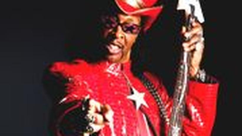 """Musiker Bootsy Collins: William """"Bootsy"""" Collins ist 59 und lebt bei Cincinnati. Sein Album """"Tha Funk Capital of the World"""" erscheint bei Mascot Records"""