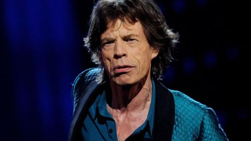 Mick Jagger: Mick Jagger, bald 68 Jahre alt