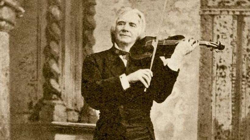Komponist Ole Bull: Der Geigenvirtuose Ole Bull auf einem zeitgenössischen, undatierten Foto