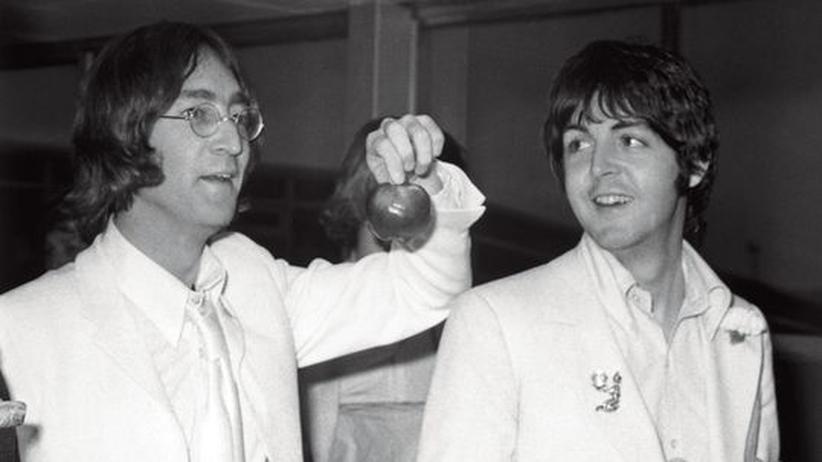 Popkultur: John Lennon und Paul McCartney im Juli 1968