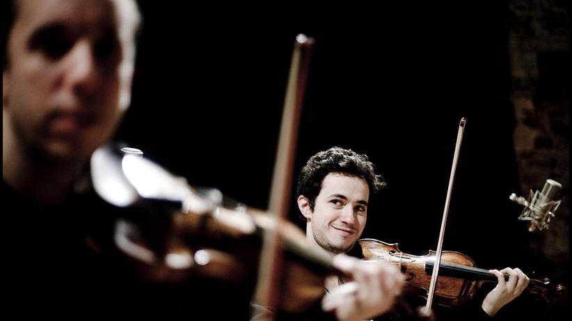 Quatuor Ebène: Mozarts Dunkelheit durchmessen