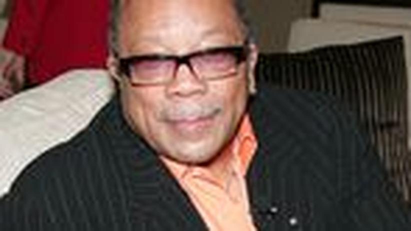 """Musiker Quincy Jones: """"Mach es heiß! Mach es knusprig!"""""""