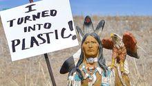 Post von Sophie Hunger (3): Müll unter den Augen der Indianer