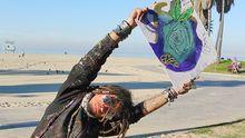 Der Maler Vincent aus Venice Beach