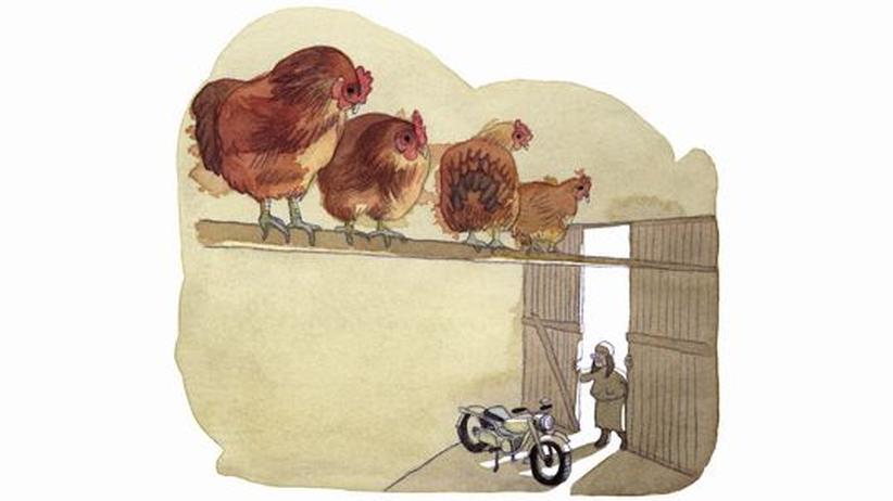 """Kinderlieder (31): """"Meine Oma fährt im Hühnerstall Motorrad"""""""