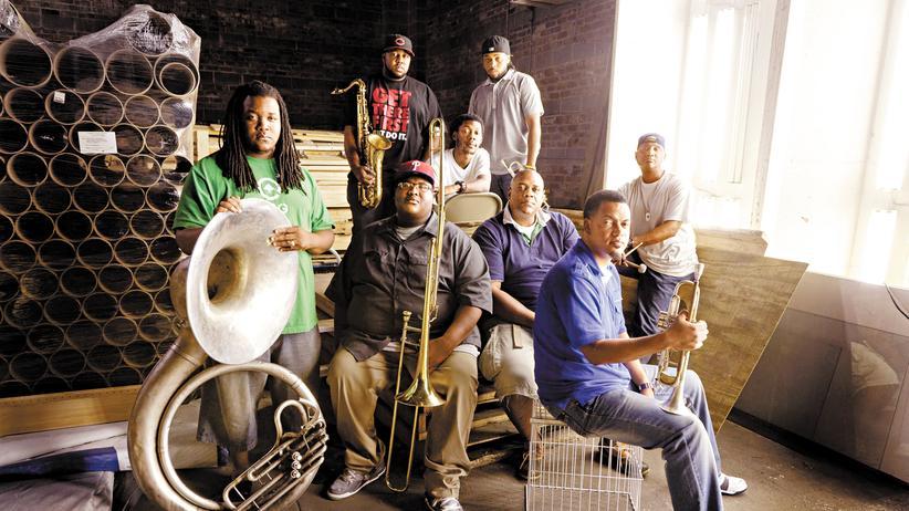 Soul Rebels Brass Band: Schweiß, Bier und heiße Trichter