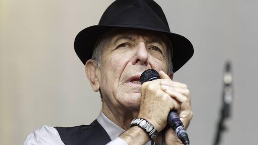 Der Sänger Leonard Cohen