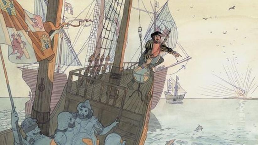 """Kinderlieder (54): """"Ein Mann, der sich Kolumbus nannt"""""""