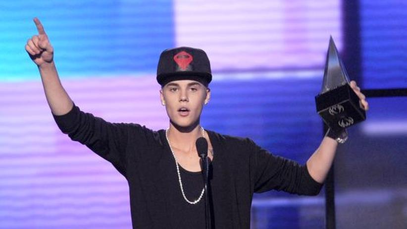 Popmusik: Justin Bieber großer Gewinner bei den American Music Awards