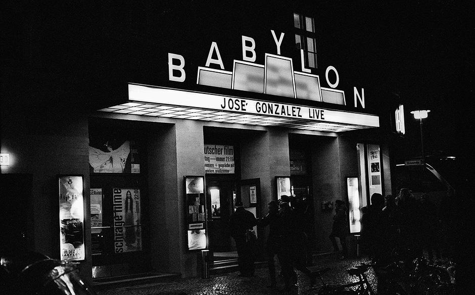 """""""Tonight (José González)"""", Babylon, Berlin, 12. November 2007"""