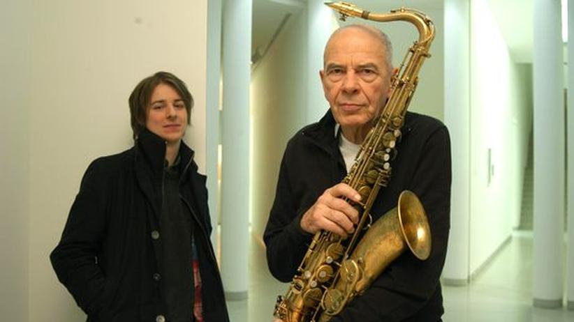 Saxofonist Heinz Sauer: Heinz Sauer (rechts) kam in den fünfziger Jahren zum Jazz, Michael Wollny erst Mitte der Neunziger.