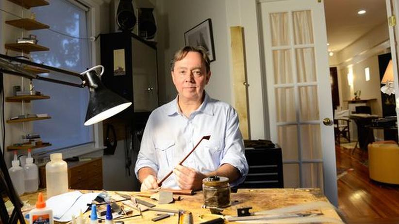 Streichinstrumente: Benoît Rolland hat den Bogen raus