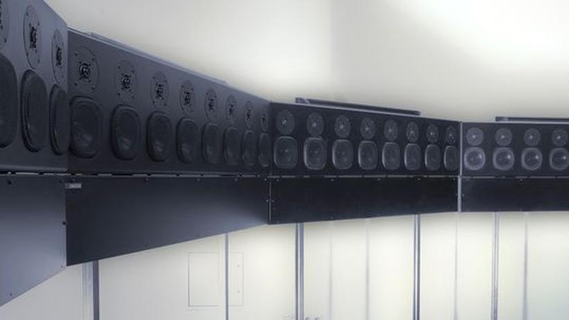 Kreativbranche: Eine Lautsprecher-Installation des Pulse Lab bei der Clubtransmediale 2013