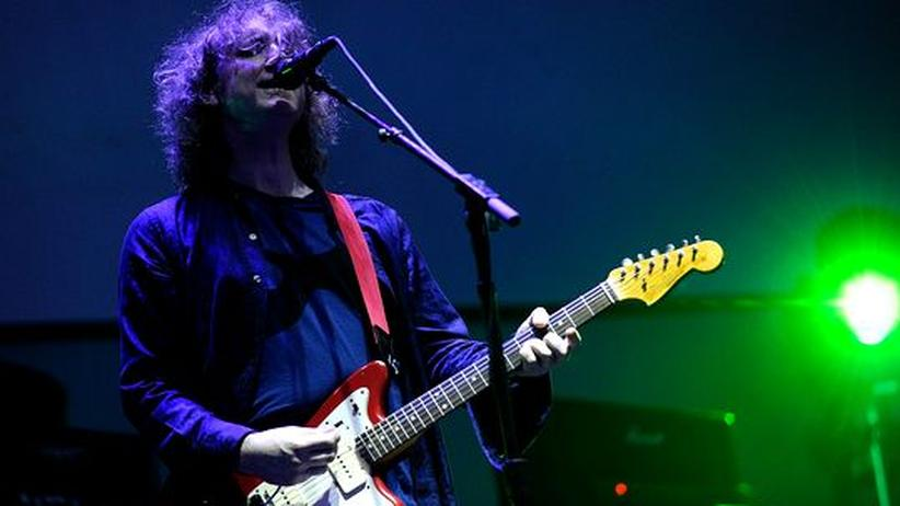 My Bloody Valentine: Kevin Shields 2009 beim All Points West Music & Arts Festival in New Jersey