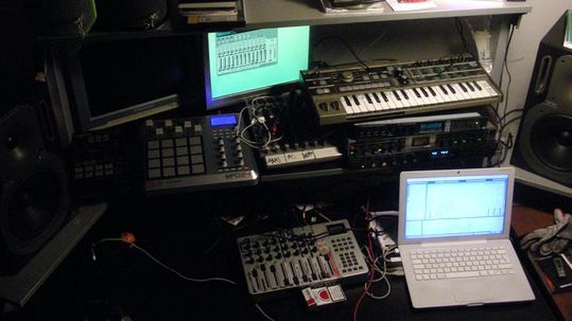 Musiksoftware: Ein modernes Heimstudio wie dieses wäre ohne Midi nicht denkbar.