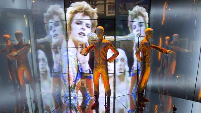 "David-Bowie-Ausstellung: Exponat in der Retrospektive ""David Bowie Is"""