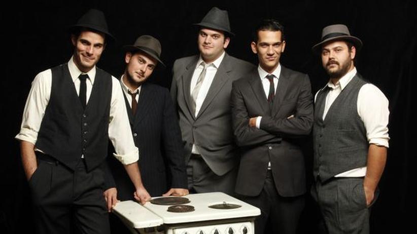 SXSW in Austin: Die griechische Band Imam Baildi
