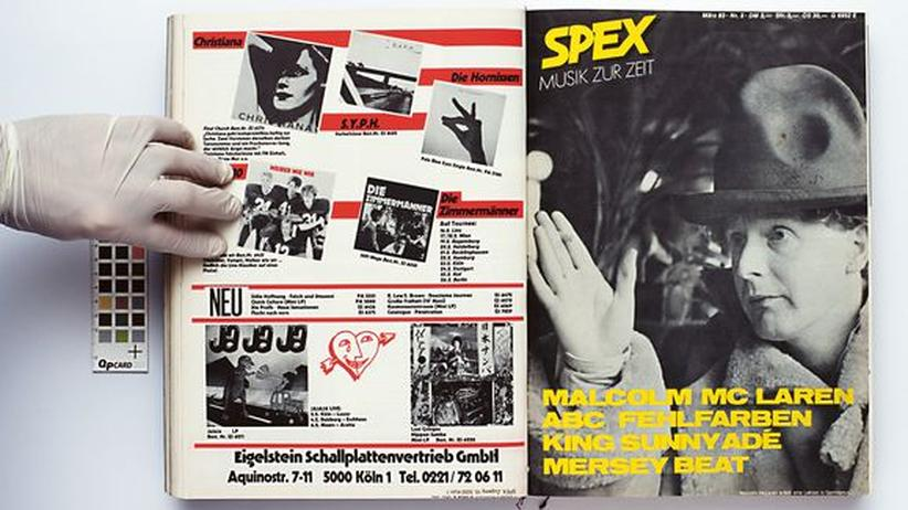 """Musikmagazin: Die """"Spex"""" hat das Denken über Pop verändert"""