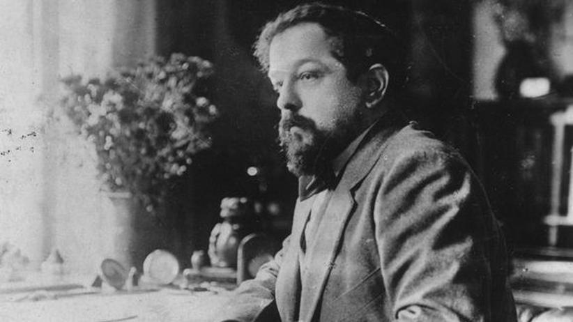 Debussy-Einspielung: Claude Achille Debussy (1862 - 1918) auf einer Fotografie von 1901