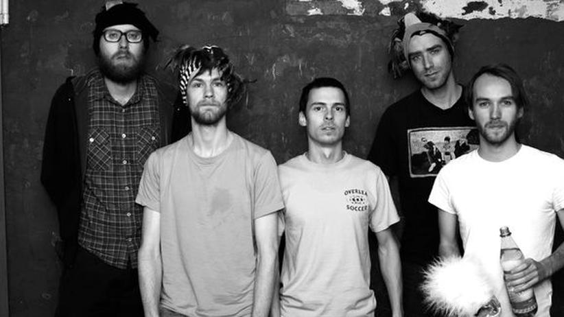 Berliner Rap: Käptn Peng (zweiter von links) und die Tentakel von Delphi