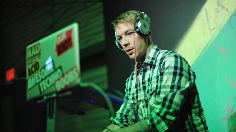 Musikproduzent: Wesley Pentz alias Diplo bei der Arbeit