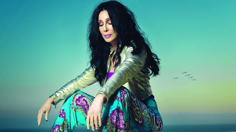 Sängerin Cher: Cherilyn Sarkisian, geboren 1946 in Kalifornien