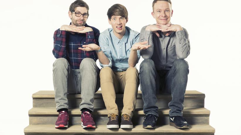 Deine Freunde: Markus Pauli (DJ), Lukas Nimschek (Sänger) und Florian Sump (Schlagzeug) sind Deine Freunde.