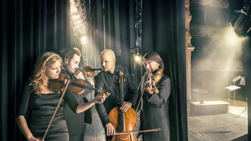 Artemis Quartett: Gruppenbild mit Dame: Das Berliner Artemis Quartett