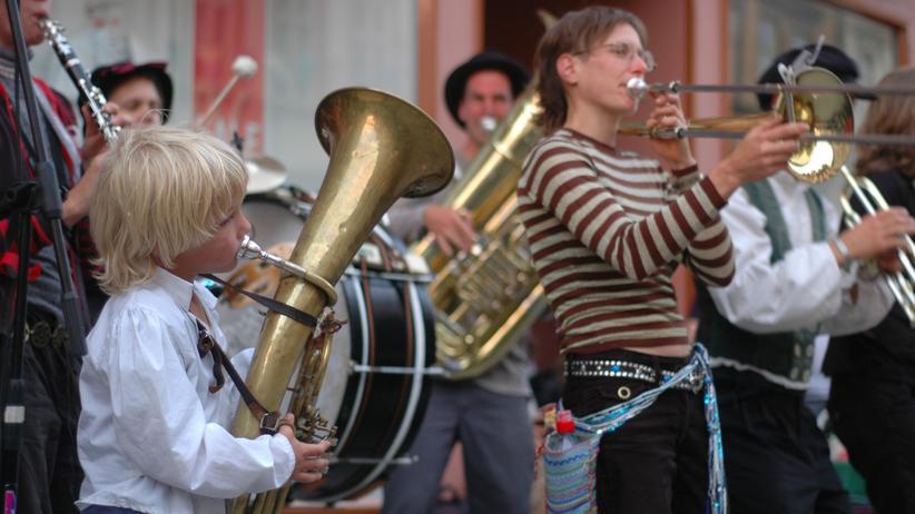 TFF Rudolstadt Straßenmusik