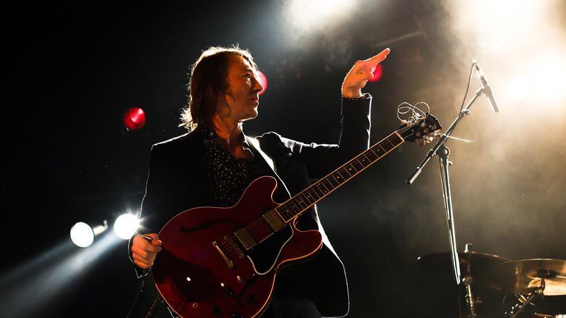 Blumfeld-Comeback: Jochen Distelmeyer während des Blumfeld-Konzerts im Berliner Astra