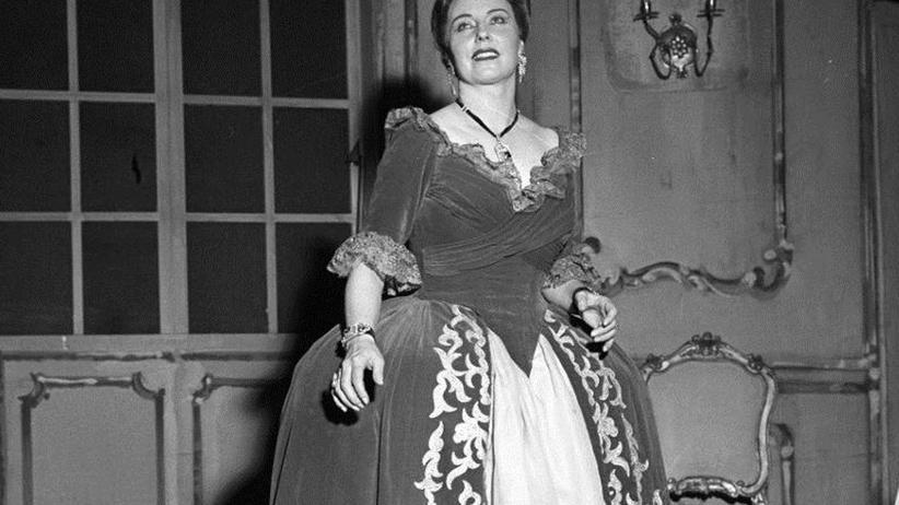 Magda Olivero an der Mailänder Scala
