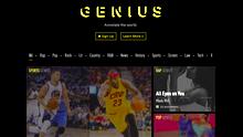 Die ganze Welt mit Anmerkungen versehen: Genius.com