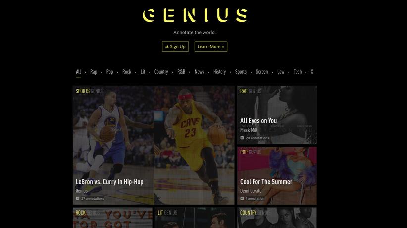 Genius.com: Wer Kanye kapiert, versteht auch Nietzsche