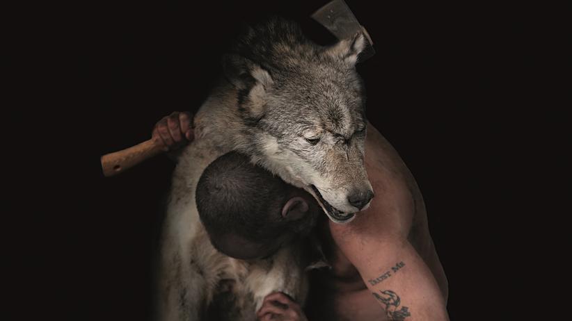 Douglas Gordon: Von Wölfen und Menschen