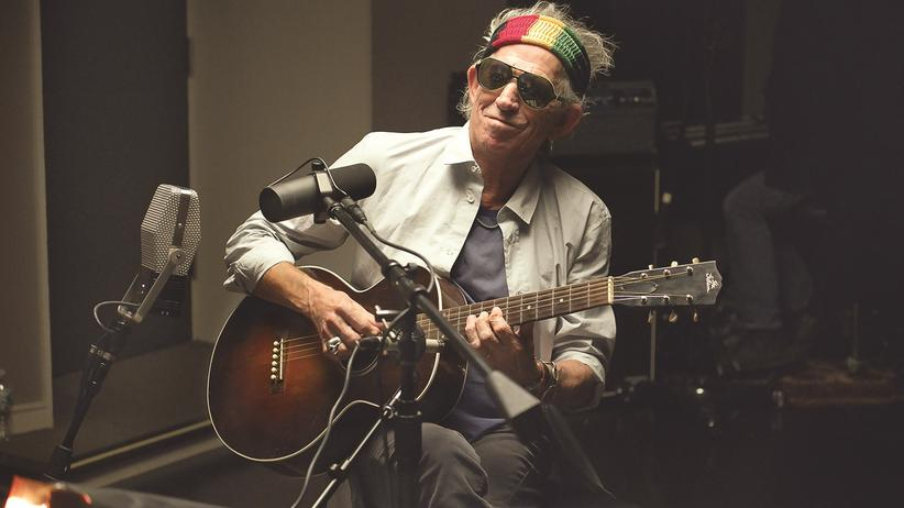 Keith Richards: Wandelndes Weltkulturerbe: der 71-jährige Keith Richards