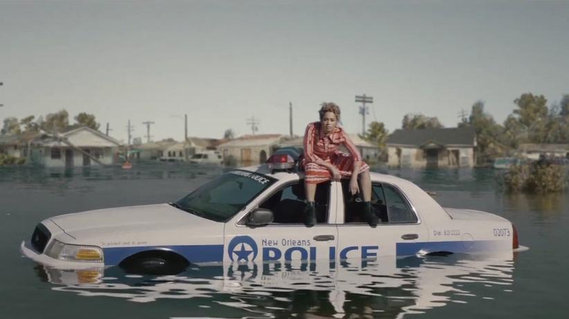 Beyoncés Anspielung auf Hurricane Katrina und den Polizeistaat