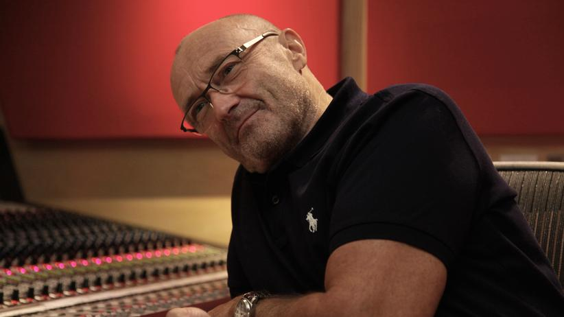 Phil Collins im Tonstudio