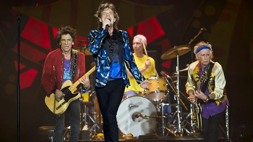Rolling Stones auf Kuba: Die Rolling Stones auf ihrer America-Latina-Olé-Tour, hier in São Paulo