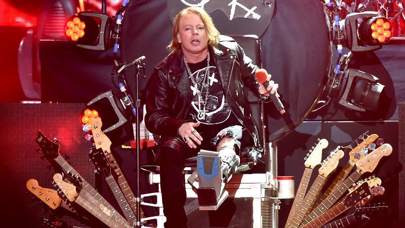 Guns N' Roses: Wie Axl Rose sich neu erfand