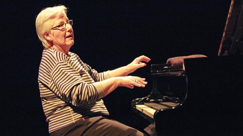 Irène Schweizer: Irène Schweizer in Aktion