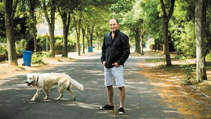 Björn Casapietra: Ort seiner Kindheit: Björn Casapietra in Eichwalde bei Rauchfangswerder, südlich von Berlin