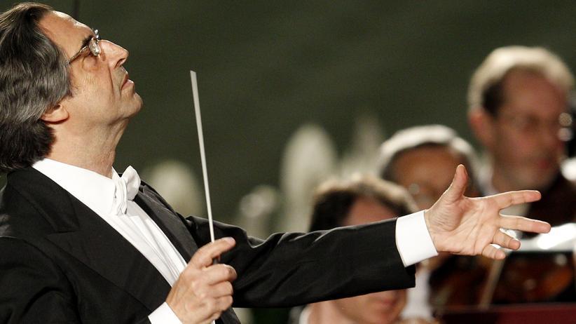 """Riccardo Muti: """"Sonst könnten wir Platten auflegen"""""""