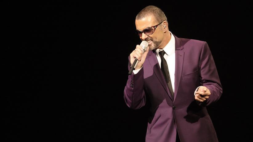 George Michael bei einem Auftritt in Wien 2012