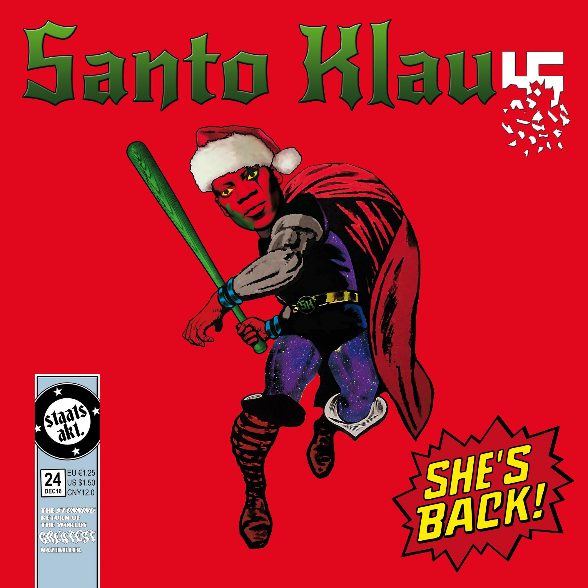 "Various Artists: ""Santo Klaus – Der Staatsakt-Weihnachtssampler"""