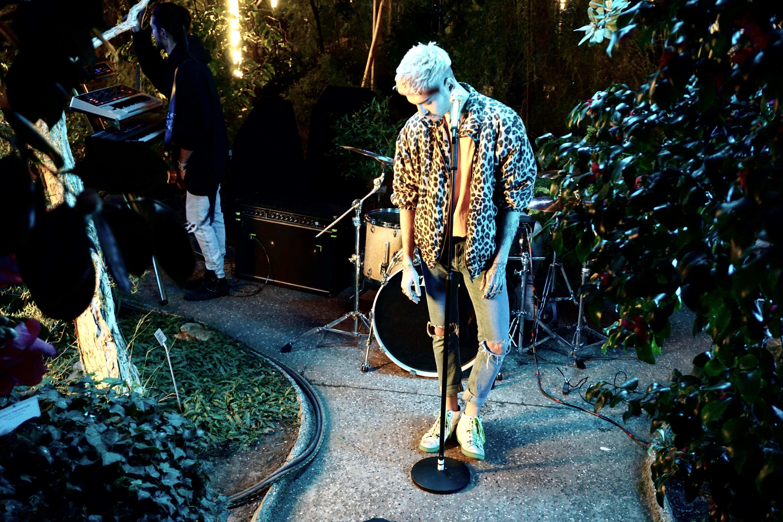 """Tokio Hotel: Bill Kaulitz während der Aufnahmen zum Video """"What If"""""""