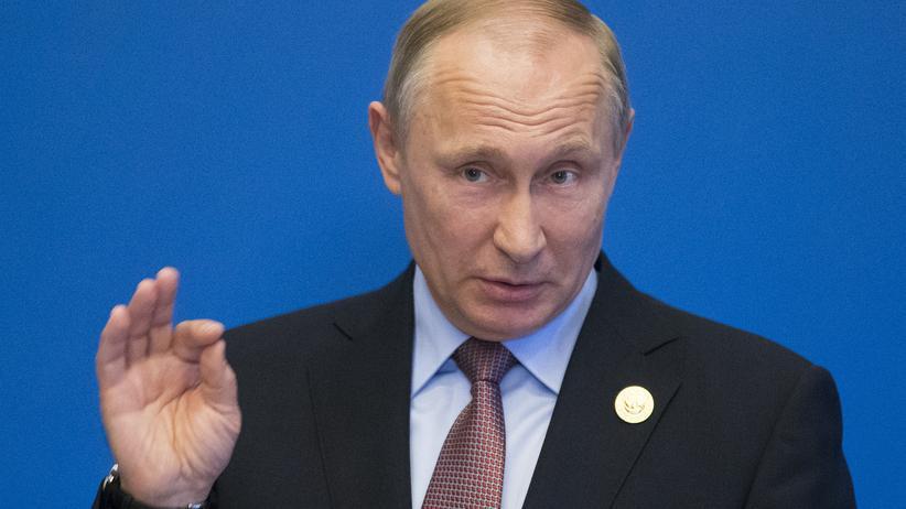 Wladimir Putin: Der russische Präsident Wladimir Putin während seines Besuchs in Peking
