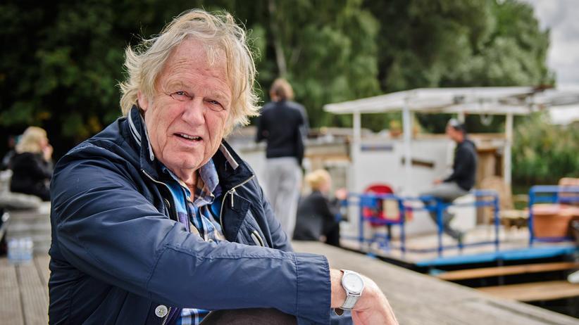 Sänger: Gunter Gabriel im September 2015 in Berlin