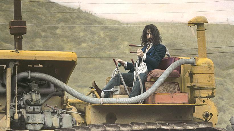 Spotify: Von Frank Zappa ausgehend das Spotify-Archiv erkunden: nicht die schlechteste Idee.