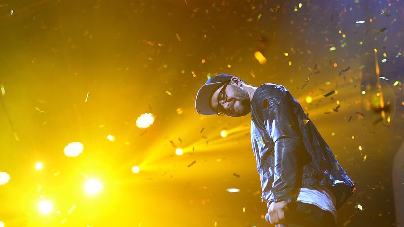Deutschpop: Konfetti und Wohlfühlen für alle: der Sänger Mark Forster während eines Auftritts